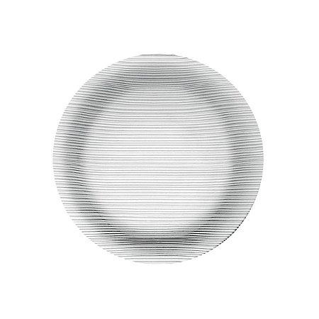 Prato Diamante Raso 26cm Caixa C/ 12 Unidades