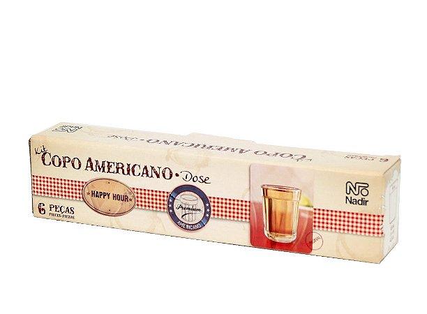 JOGO DE COPO AMERICANO APERITIVO 45ML COM 6 UNIDADES - NADIR FIGUEIREDO