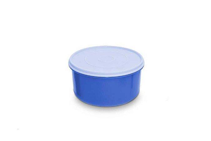 Pote Redondo Hermético 1 Litro - Cores Sortidas - Plástico Santana