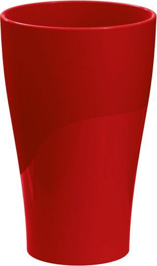 Copo 300ml Vermelho Sólido C/ 06 Unidades