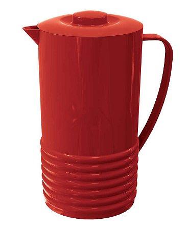 Jarra PLUS 1,8 Litros Vermelho Sólido
