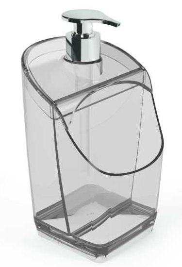 Dispenser C/ Suporte para Esponja Transparente