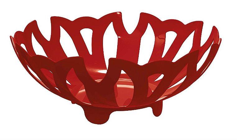 Fruteira PLUS Vermelha Sólido