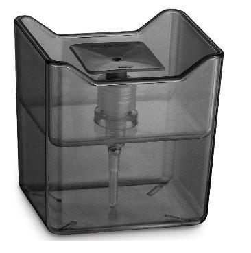 Dispenser Premium Preto Translúcido