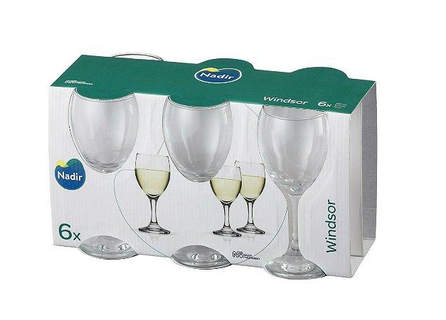Jogo Taça Windsor Vinho Branco 190ml C/ 06 Unidades