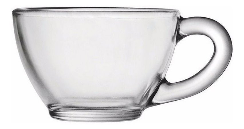 Xícara de Chá S/ Pires Diamante Caixa C/ 12 Unidades