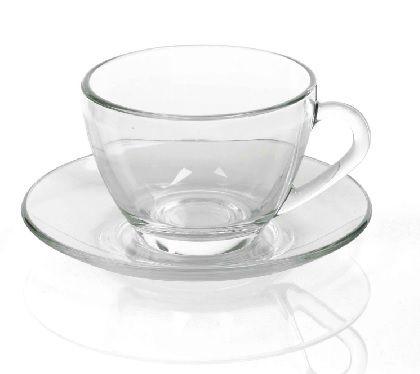 Xícara de Chá C/ Pires Astral Caixa C/ 24 Unidades