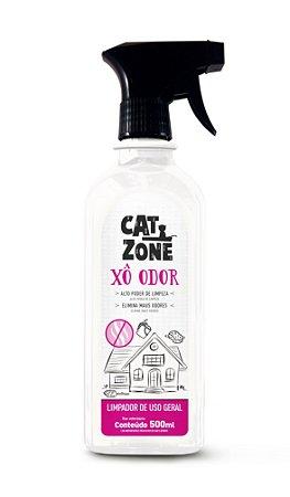 Cat Zone Xô Odor  Limpador Eliminador de Odores 500 ML -Procão