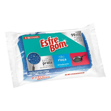 Esponja Efrebom Não Risca Pacote C/ 12 Unidades
