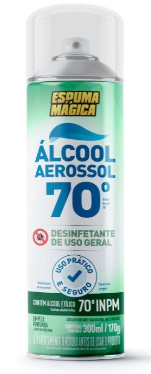 ALCOOL 70° AEROSSOL 300ML