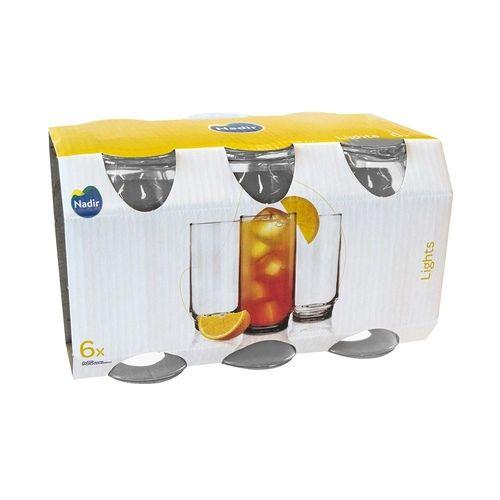 Jogo de Copo Light's 300ml C/ 06 unidades