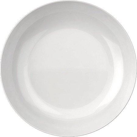 Prato Opaline Blanc Fundo 22cm Caixa com 24 Unidades