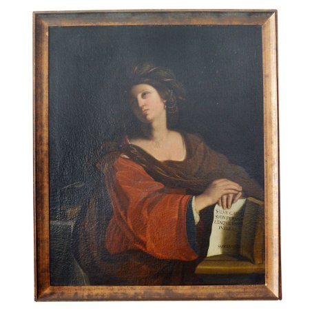 Pintura Italiana , séc XVIII , Madona  , Antiguidade , Colecionadores