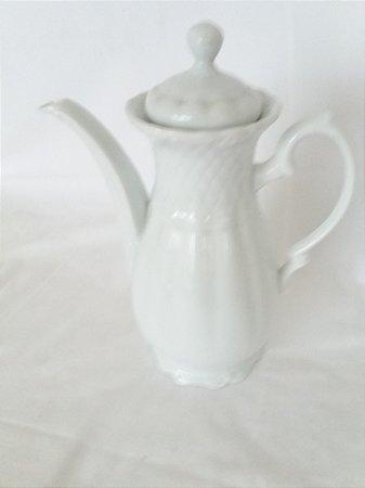 Bule Café Porcelana Branco