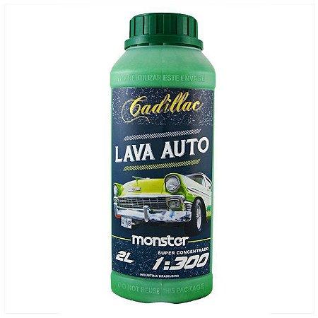 Lava Auto Monster Super Concentrado 1:300 - Cadillac (2 Litros)