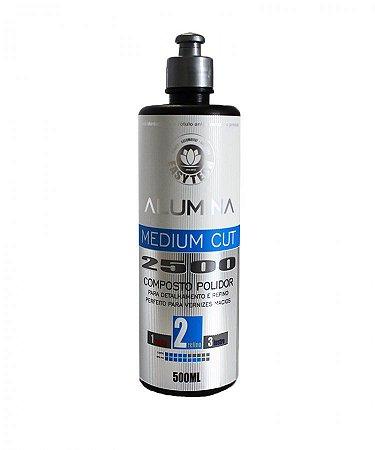 Alumina Medium Cut 2500 - Composto Polidor de Refino - EasyTech (500ml)