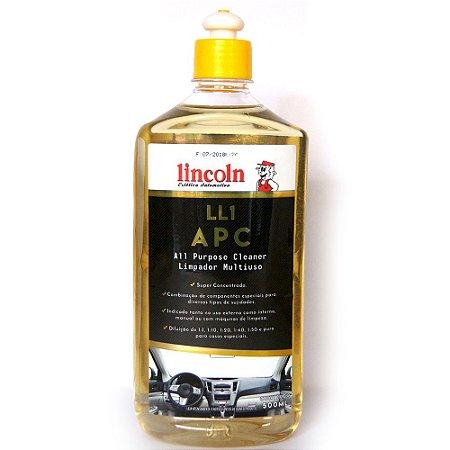 Limpador Multiuso LL1 APC Lincoln 500ml