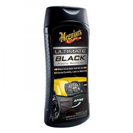 Ultimate Black Plastic Restorer - Renova Plásticos Meguiars (355ml)