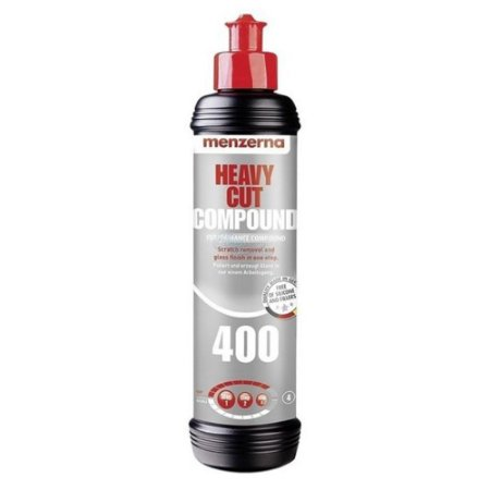 HEAVY CUT COMPOUND 400 FG400 COMPOSTO POLIDOR 250ML - MENZERNA