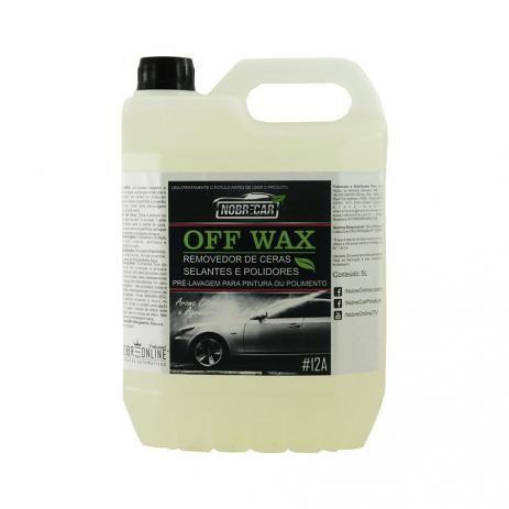 Detergente Off Wax - Desengordurante e Removedor de Cera 5L - NobreCar