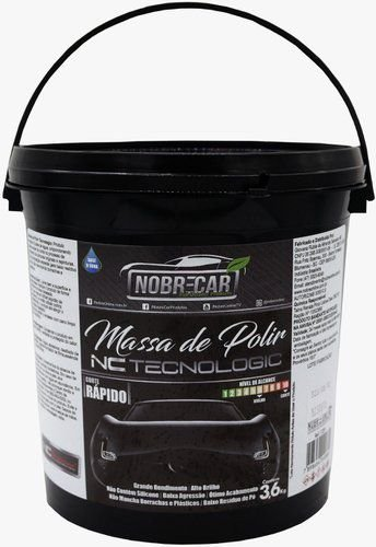 MASSA DE POLIR TECNOLOGIC 3,6KG - NOBRECAR