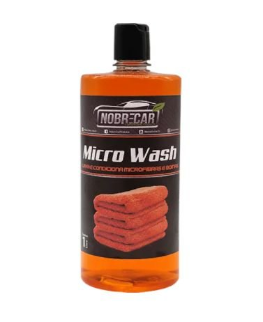 MICRO WASH LAVA MICROFIBRA 1L - NOBRECAR
