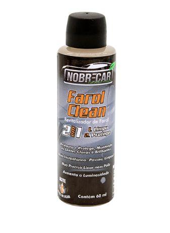 FAROL CLEAN REVITALIZADOR DE FARÓIS 60ML - NOBRECAR