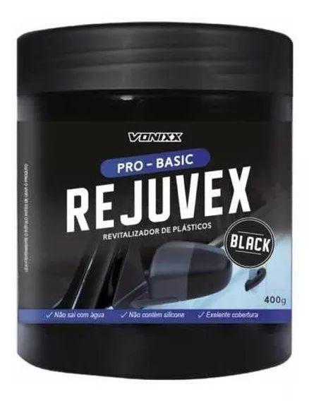 REJUVEX BLACK REVITALIZADOR DE PLÁSTICOS 400G - VONIXX