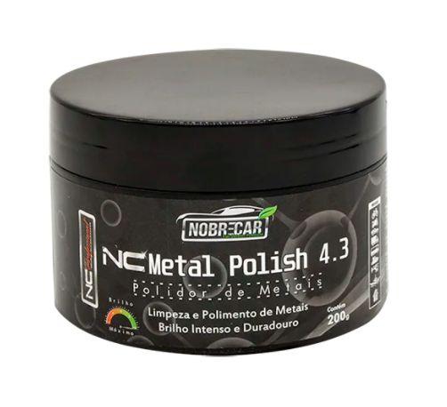 NC METAL POLISH 4.3 POLIDOR DE METAIS 200G - NOBRECAR