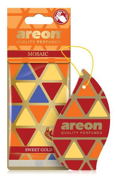 AROMATIZANTE SWEET GOLD MOSAIC - AREON PREMIUM
