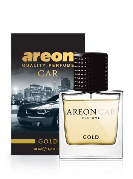 PERFUME PARA CARROS GOLD 50ML - AREON