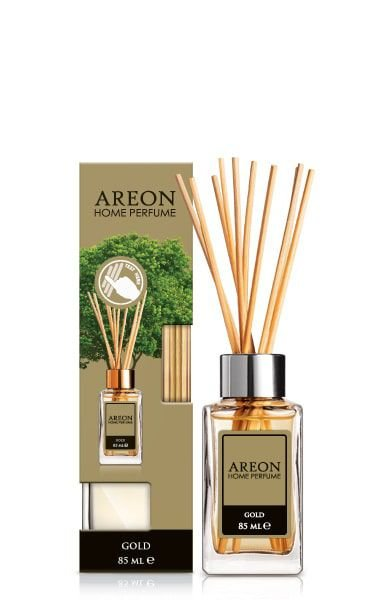 AROMATIZANTE DIFUSOR DE AMBIENTE LUX GOLD 85ML - AREON HOME