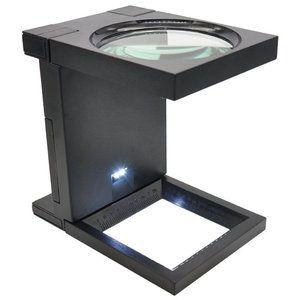 LUPA CONTA FIOS 90MM SLF-190 LED - SOLVER