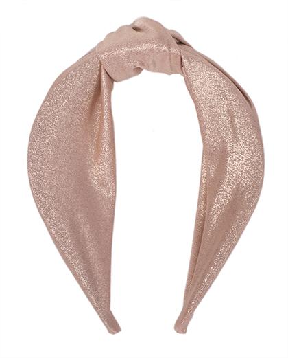 Tiara de tecido rosé Molly