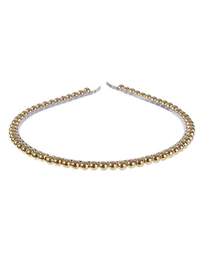 Tiara de metal dourada kansas