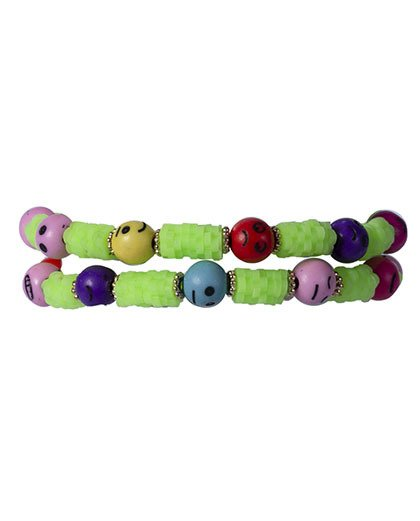 Kit 2 pulseiras verde dalila