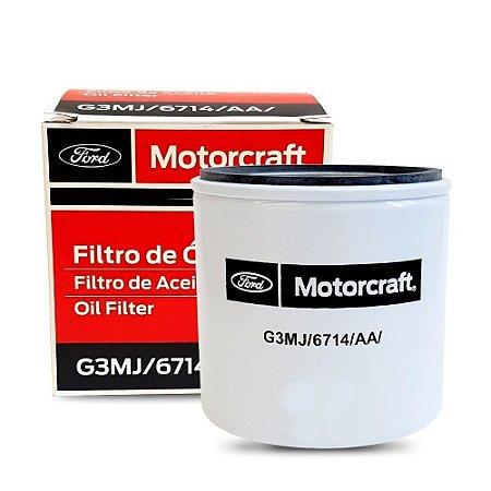 Filtro De Oleo Motorcraft Ford Ka Fiesta Eco Focus Fusion