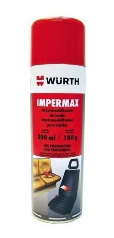 Impermax Wurth - Impermeabilizante Spray De Tecidos 300ml