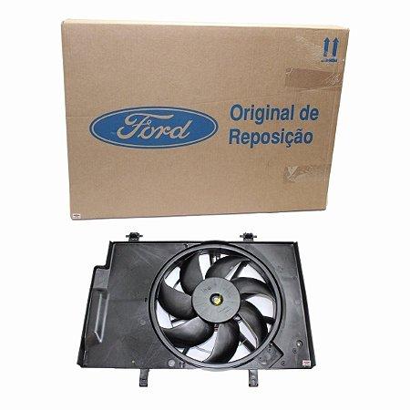 Motor Helice Ventoinha New Fiesta Ka Novo Original Ford