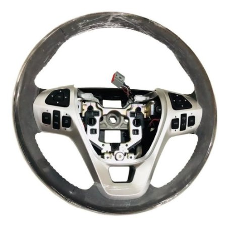 Volante De Direção (Couro/Bege) Original Ford Edge 09/14
