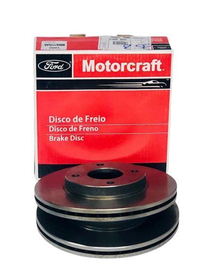 Jogo De Disco De Freio Dianteiro Ford Fiesta Ecosport Ka