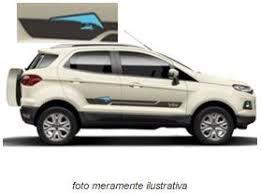 """KIT DE ADESIVOS E SOLEIRAS ECOSPORT 12/17  """"ASA DELTA"""""""