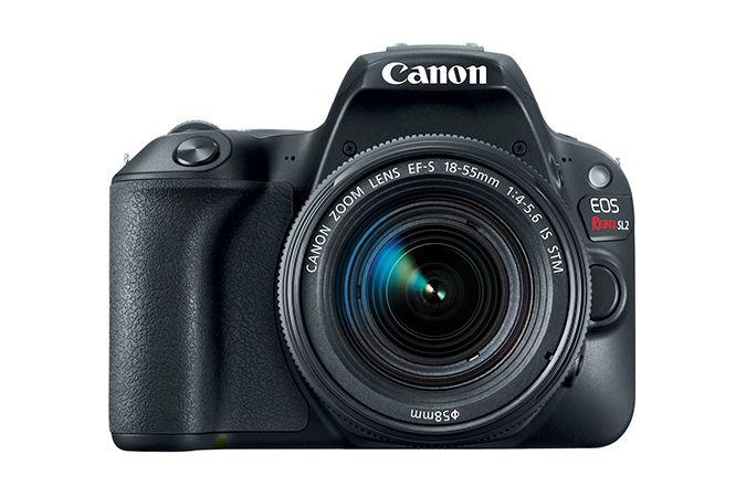 Câmera DSLR EOS Rebel Canon SL2 com lente 18-55MM STM IS