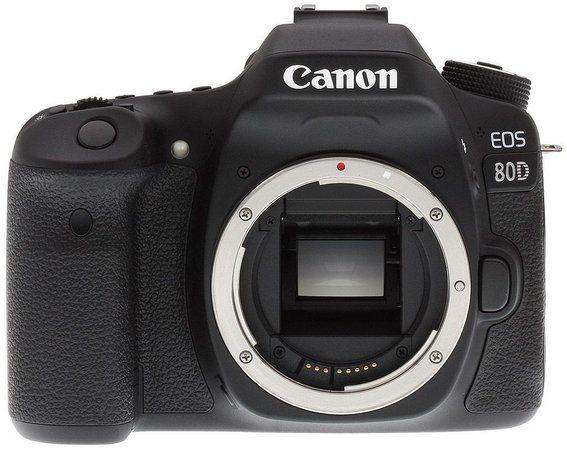 Câmera EOS 80D - Corpo