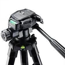 Tripé para Câmera Digital e Celular Com Cabeça Para Até 4kg