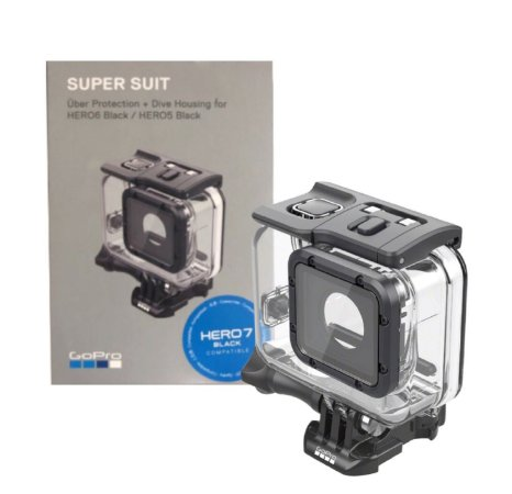 Caixa Estanque Original da GoPro Hero 5 6 7 Black e Hero 2018 Super Suit AADIV-001