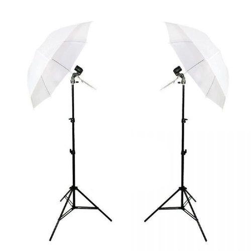 Kit de Iluminação Duplo Foto e Filmagem Luz Continua