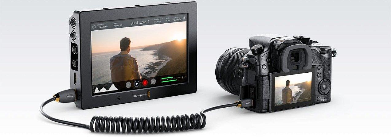 Monitor Blackmagic Design Video Assist 4k 7 Hdmi/6g-sdi Blackmagic Design