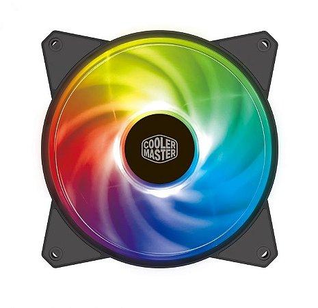 Cooler para gabinete cooler master mf120r a. Rgb - r4-120r-20pc-r1