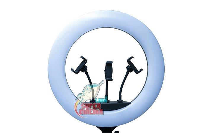 Iluminador Ring Light Make Greika 18 Polegadas Quente/frio